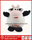Hot Sale Vache en peluche jouet avec la conception de l'assistant