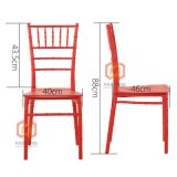 De Plástico PP Bodas banquetes alquiler sillas Chiavari