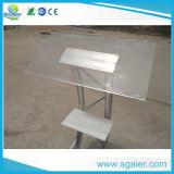 Het moderne Podium van de Lessenaar van /Podium van de Lessenaar van het Aluminium van het Type van Metaal Duidelijke Goedkope Acryl
