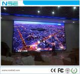 Farbenreiche InnenP4mm normale örtlich festgelegte Bildschirm-Bildschirmanzeige der Installations-LED