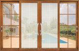 Fuxuan gute QualitätsAluminiumdoppelverglasung schiebendes Windows/Aluminiumfenster