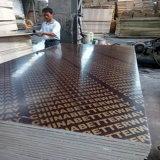 21*1250*2500mm de la construcción de madera contrachapada de película de Brown enfrentó la madera contrachapada
