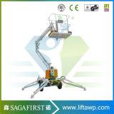Het lucht Vrachtwagen Opgezette Werkende Platform van de Lift van de Mand van de Plukker van de Kers Manlift