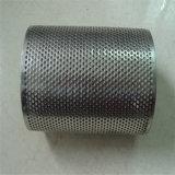 cilindro perforado perforado del filtro del tubo filtrante del acero inoxidable 304 316 316L