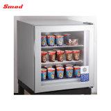 21L оптовой холодильники мини стеклянные двери морозильной камеры дисплея на прилавок