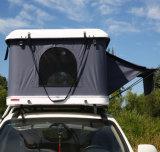 Назеиный ся белый трудный шатер верхней части крыши автомобиля стеклоткани раковины