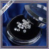 VVS color blanco diamante sintético Moissanite Piedra de la manera del anillo