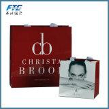 Saco de compra luxuoso feito sob encomenda barato relativo à promoção do papel de embalagem