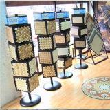 カスタマイズされたタイルの水晶大理石のショールームの陳列台