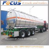 Camion di rimorchio d'acciaio di alluminio del combustibile dei 4 scompartimenti per Medio Oriente
