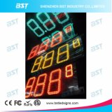 Rectángulo de iluminación impermeable al aire libre del precio de la gasolina LED