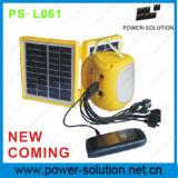Lanterna Solar Portátil com lâmpada de suspensão e carregador de telemóvel