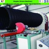 スチールバンドの機械を作る補強されたHDPEの下水の波形の管
