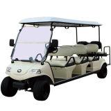 Carrello di golf di 6+2 Seater con il generatore anteriore dell'ibrido & del circuito di collegamento