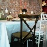 싼 가격 사건 결혼식 가구 목제 십자가 뒤 x 의자