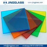 La sûreté en gros de construction a teinté le prix usine en verre coloré par glace d'impression en verre de Digitals