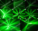 Novo modelo 9 cabeças RGB / Single Green Moving Spider Laser Lights