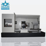 큰 적재 능력 편평한 침대 CNC 선반 Ck61100