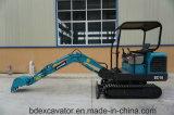 Mini excavadores 1.8t de Baoding con el compartimiento 0.06m3 para cavar