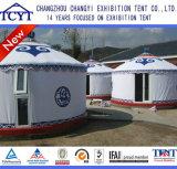 Tente mongole d'événement d'usager de tente de Yurt de tente extérieure de luxe de Yurt