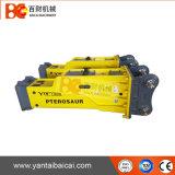 20ton silenciou o tipo martelo do disjuntor da máquina escavadora feito em Yantai