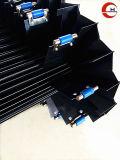 Аккордеон Guideway сильфона с крышки зубчатого шкива на абразивную стойкость для станка с ЧПУ