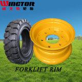 os pneumáticos contínuos do Forklift 18X7-8, sólido industrial montam pneus 18X7-8