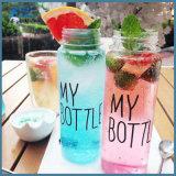 Цветасто моя бутылка воды питья спортов бутылки пластичная