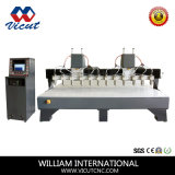 CNC 목공 조각 기계 (VCT-3230W-2Z-12H)를 만드는 가구