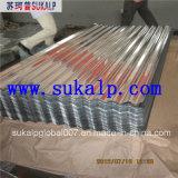 Lamiera di acciaio galvanizzata per il tetto