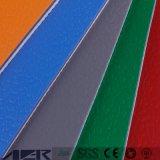 VinylBevloering van de Sporten van pvc van het Bewijs van de hoogste Kwaliteit de Correcte in Broodje