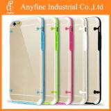 TPU Ultra Thin gel suave claro de volta da tampa rígida para iPhone 6/6 Plus 5s 5c 4s