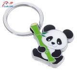 Figura personalizzata Keychain in lega di zinco del panda da vendere