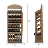 Supermarket를 위한 Graphic를 가진 광동에 있는 지면 Wooden Shampoo Body Wash Clothes Powerbank Wine Display Coat Rack