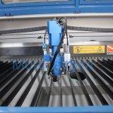 Anunciando a máquina de estaca do laser do CNC 150W para a folha inoxidável do ferro plástico de borracha de madeira acrílico do metal