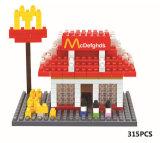 Brinquedo de crianças bloco de bricolage bloco de brinquedo bloco de fastfood (h03120106)
