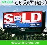 Schermo impermeabile di pubblicità esterna P10 LED di alta qualità