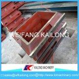 Boccetta della fonderia del contenitore di sabbia della boccetta della fonderia della casella della fonderia di alta qualità