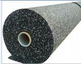 Прочного EPDM резинового валика коврик спортзал резиновый пол / блокировки Crossfit резиновый пол