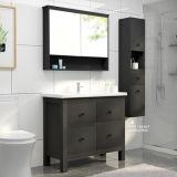 Chinesischer moderner Badezimmer-Eitelkeits-Schrank mit Fußboden-Standplatz-Badezimmer-Wannen-Eitelkeit