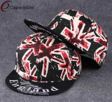 Buntes Sublimation Printing Fabric Snapback Hat mit Adjustable Buckle