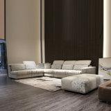 Gewebe-Ecksofa für Wohnzimmer-Möbel mit grossem Cbm