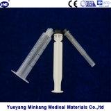 의무보급 의학 처분할 수 있는 메마른 주사통 3개 부품 5ml (luer 자물쇠)