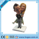 Modern Hot Selling New Customized Resin Wedding Couple Bobble Head