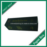 Matt Black Folding Carton Box für Wine Bottle Packing
