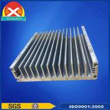 放送送信機のための突き出されたプロフィール脱熱器を冷却する風
