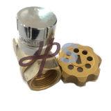 Magnético Válvula de bola de latón con cerradura con llave