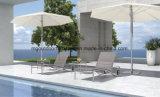 La piscina al aire libre muebles Tumbona con ruedas
