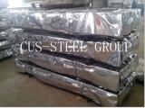 Hoja de metal acanalada/hojas galvanizadas del material para techos del hierro