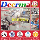 linha de máquinas tubo de PVC Belling 16-63mm com a máquina, misturadores e do britador